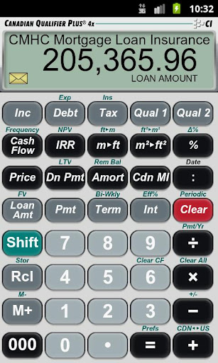 Canadian QP4x Loan Calculator