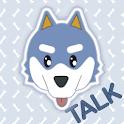 Husky Puppy 카카오톡 테마 icon