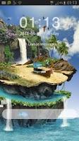Screenshot of GO Locker Theme tropical