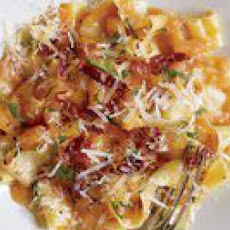 Pasta with Prosciutto and Melon