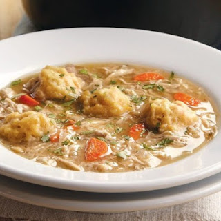 Chicken and Dumplings From 'Lighten Up, America!'