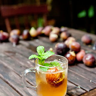Fig and Bourbon Fizz