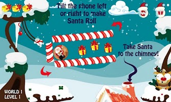 Screenshot of Santa Roll