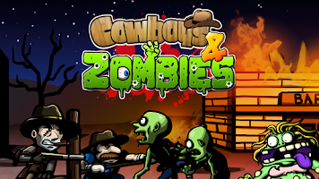 Screenshot of Cowboys and Zombies