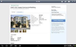 Screenshot of LoopNet Commercial Real Estate