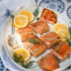 Mustard-Glazed Salmon