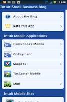 Screenshot of Small Business Blog
