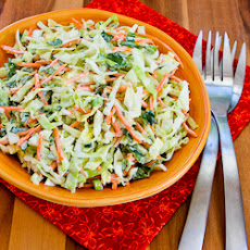 Moroccan Cabbage Slaw with Carrots, Cumin, Lemon, and Mint