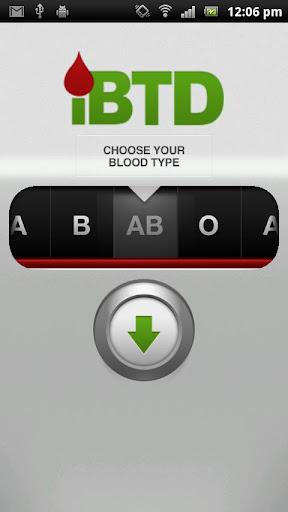 Blood Type Diet - iBTD