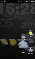 Screenshot of Circle Weather