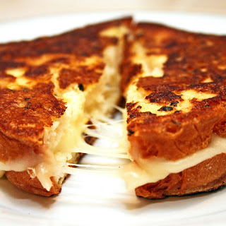 Grilled Mozzarella Cheese Sandwiches