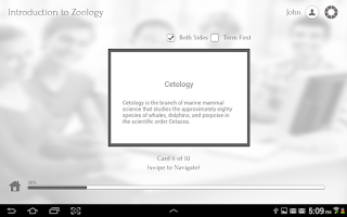 Screenshot of Learn Zoology by GoLearningBus
