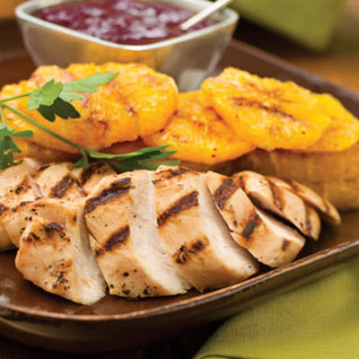 Bourbon-Cranberry Turkey Tenderloin