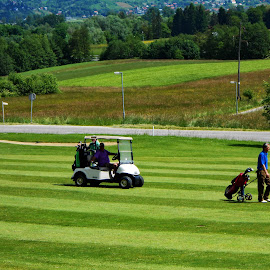 Golf Tournament - Mokrice Casle,Slovenia by Andjela Miljan - Sports & Fitness Golf