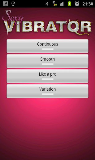 sexy-vibrator for android screenshot