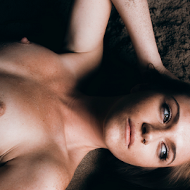 Belong Here by Ryan Smiley - Nudes & Boudoir Artistic Nude ( rksmiley ca california beach portrait colorful brunette sexy cute gorgeous girl nude artisticnude artistic eyes )