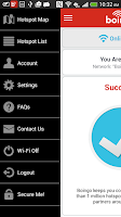 Screenshot of Boingo Wi-Finder