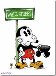 Mickey pidiendo