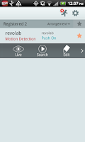 Screenshot of REVO Mobile