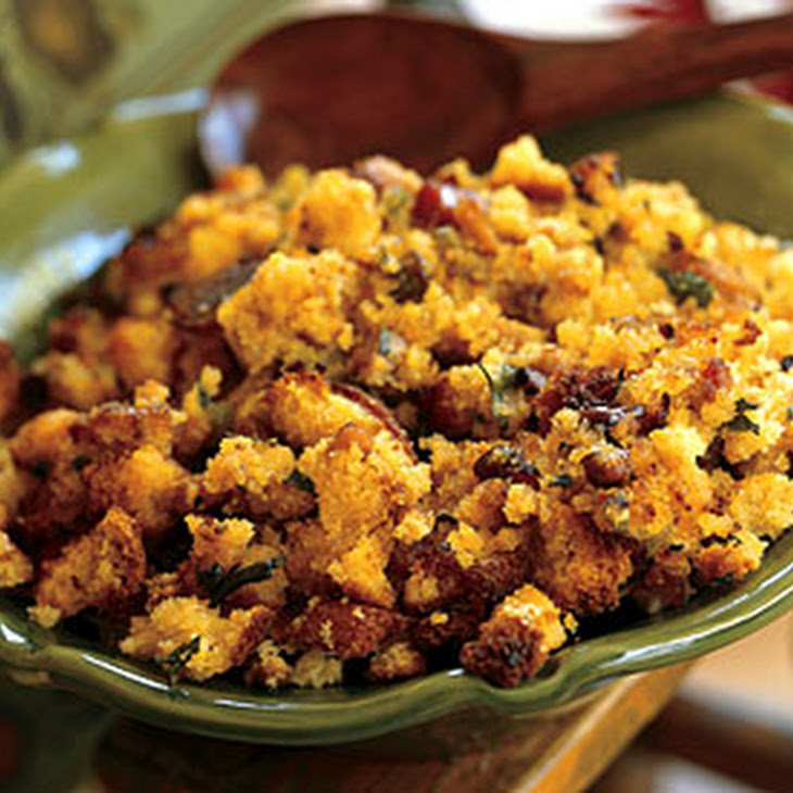 Sage Cornbread Stuffing Recipe — Dishmaps
