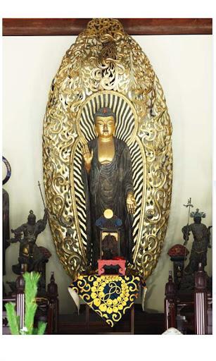 照片的日本神社和寺廟
