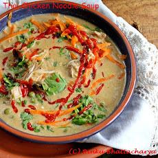 Thai-Style Chicken Noodle Soup