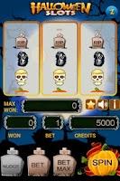 Screenshot of Halloween Slots