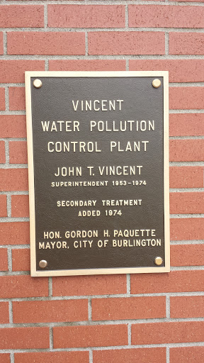 John T. Vincent Honorary Plaque