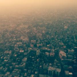 Amar sohor Kolkata by Indranil Basu - City,  Street & Park  Skylines