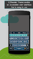 Screenshot of A.I.type EZReader Theme Pack