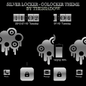 Silver Lock GoLocker Theme icon