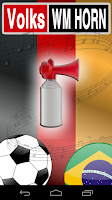 Screenshot of Official Soccer WC Air Horn