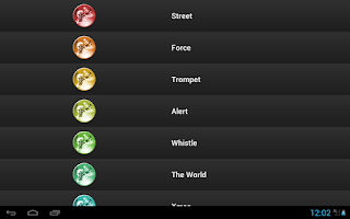 Screenshot of Free Jazz Ringtones