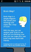 Screenshot of My Brain Map-Facebook enabled