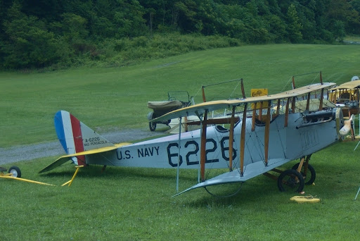 Curtis JN-4 at Rhinebeck Aerodrome, Copyright 2008 Christopher Smith