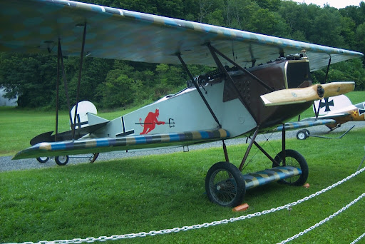 Fokker DVII at Rhinebeck Aerodrome, Copyright 2008 Christopher Smith