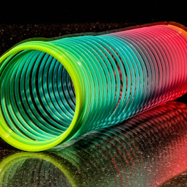 Tube by Garry Chisholm - Artistic Objects Other Objects ( colour, tube, chisholm, spring, garry )