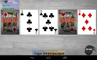 Screenshot of PokerBox - Video Poker