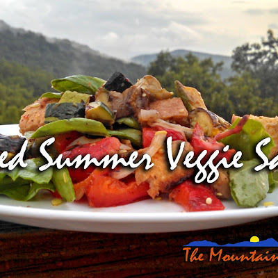 Grilled Summer Veggie Salad