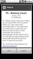 Screenshot of Y5 - Battery Saver