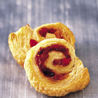 Puff Pastry Pinwheels with Candied Fruit