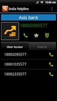 Screenshot of India Helpline