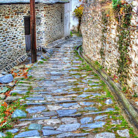 Path by Stratos Lales - Novices Only Street & Candid ( greece, mysterious, path, stone, pelion )