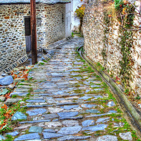 Path by Stratos Lales - Novices Only Street & Candid ( greece, mysterious, path, stone, pelion,  )