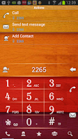 Screenshot of RocketDial Wood2nd Theme
