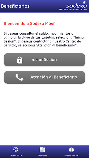 sodexo-beneficiarios for android screenshot