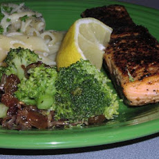 Blackened Salmon With Broccoli