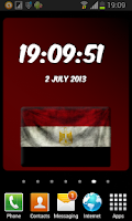 Screenshot of Egypt Digital Clock