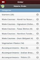 Screenshot of Shimla Pinks Leicester