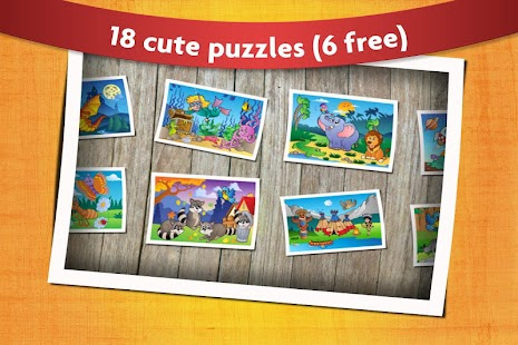 Kids Animals Jigsaw Puzzles APK Descargar